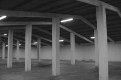 Schierling: Lagergebäude mit Eternitdach (1958)